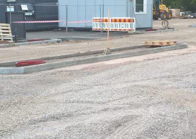 S-Market Nikkilä parkkipaikan korokkeita 2